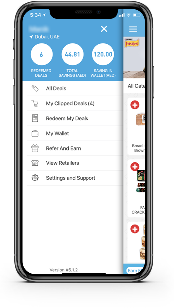 Features of ClipTheDeal iOS and Android app
